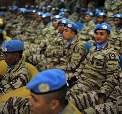 New Group of Malaysian Peacekeepers Arrive in the ...