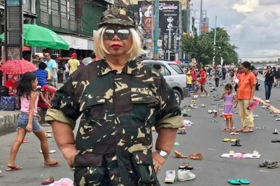 Fashion police: Comedian faces legal action after wearing ...