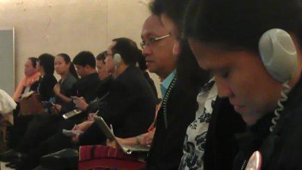 UPR Delegates in Geneva, Switzerland
