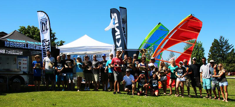 All the winners of the AWT Hood River Beach Bash