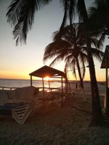 Sunset at Playa El Yaque