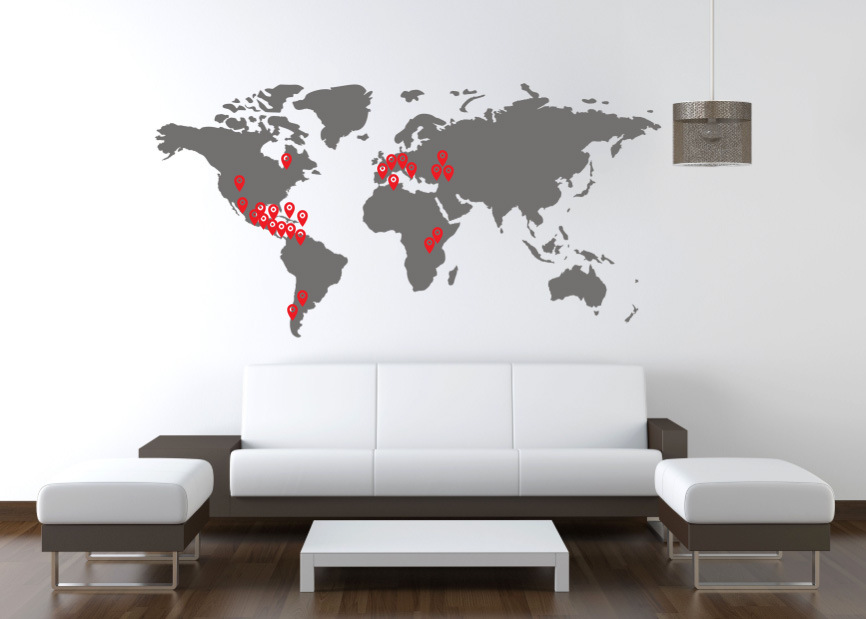 wall-map