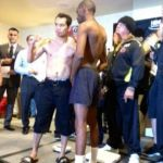 Donaire vs. Mathebula Weigh-in Video Super Bantamweight Unification Bout