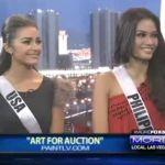 Janine Tugonon & Olivia Culpo Appears on Fox (Video)
