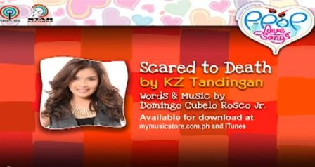 Scared to Death Himig Handog P-Pop Lyrics