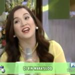 "Kris Aquino Singing ""Pusong Bato"" Video on Kris TV"