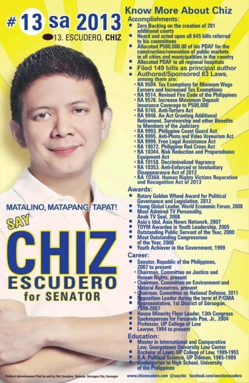 Chiz Escudero