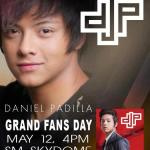 Daniel Padilla Grand Fans Day May 12 Admission Mechanics