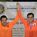 Estrada & Moreno Proclaimed as Winners in Manila (Video)