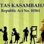 Batas Kasambahay (RA 10361) to be Released on May 10