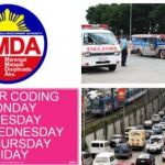 MMDA Suspends Number Coding on June 12 Independence Day