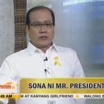 Pres. PNoy Delivers Early SONA by Willie Nep (Video)