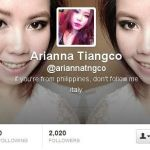 Arianna Tiangco Fake Twitter Account Used Marnelle Photos