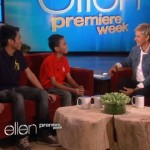 Aldrich Talonding and James: Ellen DeGeneres Show Guesting (Video)