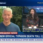 Anderson Cooper Answered Criticisms & Applauded Filipinos' Strength