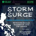 "STORM SURGE ""A Storm of Kindness for a Surge of Hope"" Bacolod Charity Event for Yolanda's Victims"