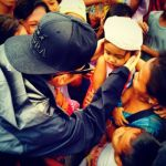"Justin Bieber's Tacloban Visit is ""Most Touching Trip of His Life"" (Photo)"