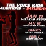 The Voice of the Philippines Kids Audition Schedules (Video)