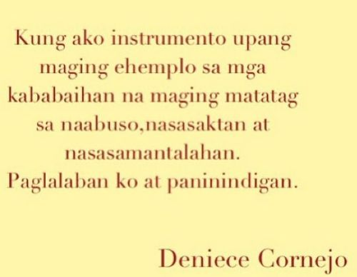 Deniece Cornejo Post
