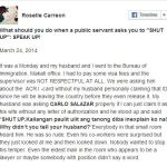 """What Should You Do When a Public Servant Asks You to Shut Up: Speak Up!"". Witness How Roselle Carreon Answer"