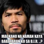 BIR's Kim Henares Reminds Manny Pacquiao to Settle Tax Deficiency