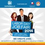 May 1 Labor Day SM Job Fair Venues & Schedules 2014