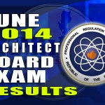 Architecture Licensure Exam (ALE) Results List of Passers (June 2014)