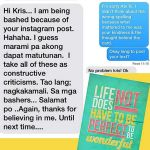 Kris Aquino Apologized to Vilma Santos for Instagram Post