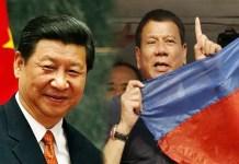 President Xi Jinping and President Duterte