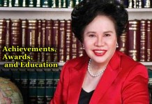 Miriam Defensor-Santiago Achievements