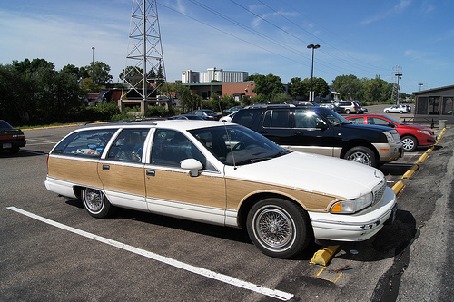 My wagon looks like this, except it is blue instead of white. Not going to impress people with it, but it functions well enough for me. What do you drive, and why?