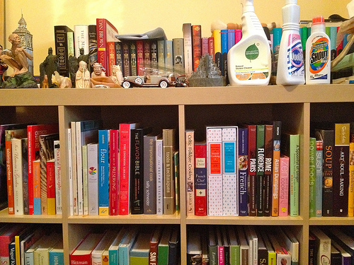 This library has a lot of quality on the topic of cooking. What does your library look like?
