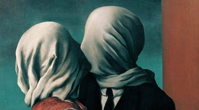 Rene-Magritte-The-Lovers-1928