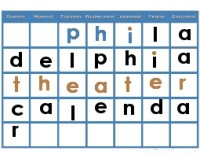 Philadelphia theater calendar