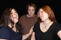 Katherine Perry, Ryan Walter, Danielle Adams, in Return of Confessions of a Plate and Shoe