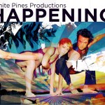 Kim Almquist and Aaron Draper of Banana Peel Dance in a promotional image for White Pines Productions' HAPPENING 2 (Photo credit: Courtesy of White Pines Productions)