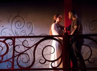 Victoria Rose Bonito and Akeem Davis in ROMEO AND JULIET