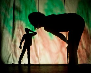 Patch Theatre Company's ME AND MY SHADOW, in collaboration with PAPAYA (Photo credit: Courtesy of the Annenberg Center for the Performing Arts)
