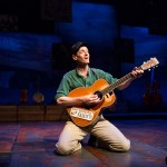 David M. Lutken stars as Woody Guthrie in WOODY SEZ at People's Light & Theatre Company (Photo credit: Mark Garvin)