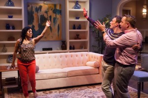 Annie Henk, Jered McLenigan, David Bardeem in RITU COMES HOME. Photo by Kathryn Raines