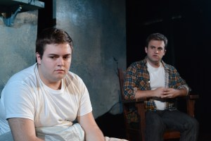 Connor Feimster and Mark Sherlock in YOU KNOW MY NAME: A DANIEL TALBOTT TRIO. Photo by John Donges.