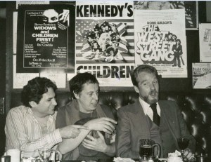 (L-R): Actor Harvey Fierstein, Robert Patrick, and playwright Doric Wilson.