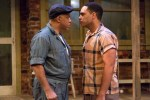 Michael Genet and Ruffin Prentiss in FENCES at People's Light & Theatre Company (Photo credit: Mark Garvin)