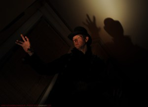 Josh Hitchens in STOKER'S DRACULA (Photo credit: Kyle Cassidy)