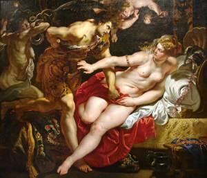 Tarquinius and Lucretia (1610), by Rubens.