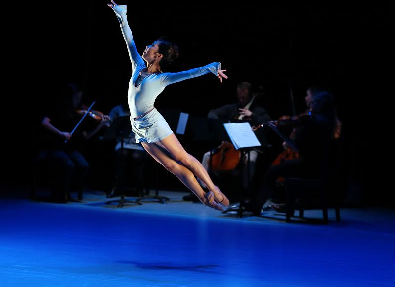 "Andrea Yorita (and musicians) in Matthew Neenan's ""Increasing""  Photo by: Bill Hebert"