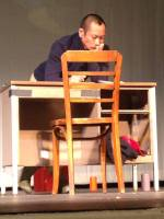 Makoto Hirano in the role of Gordon Hirabayashi in Plays & Players' production of HOLD THESE TRUTHS.