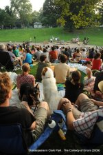 Not of an Age: Remembering 10 years of Shakespeare in Clark Park