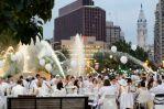 Back in White:  Philadelphia's fourth annual DÎNER EN BLANC