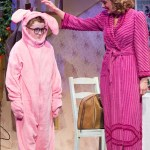 Craig Mulhern Jr. and Lyn Philistine in A CHRISTMAS STORY at the Walnut Street Theatre (Photo credit: Mark Garvin)